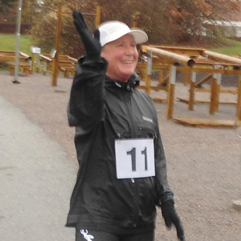 Anna Grundahl banrekord Lunchloppet Kista