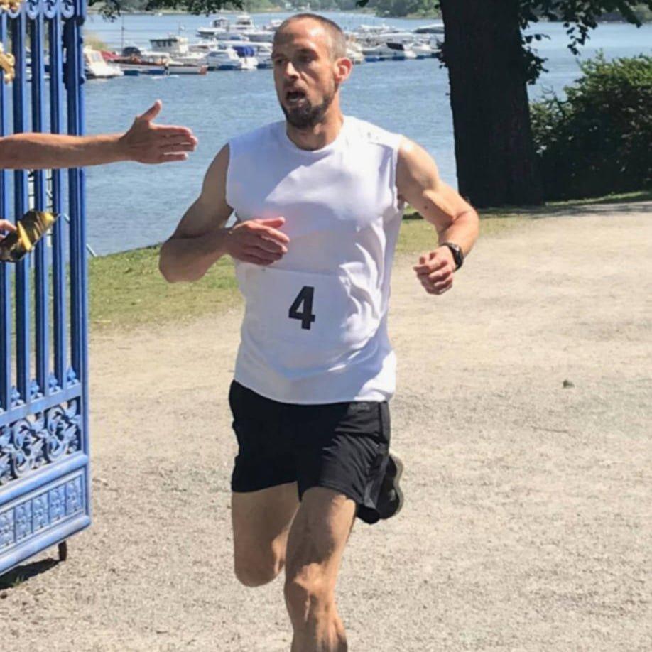 Claes Theander Banrekord Lunchloppet Djurgården