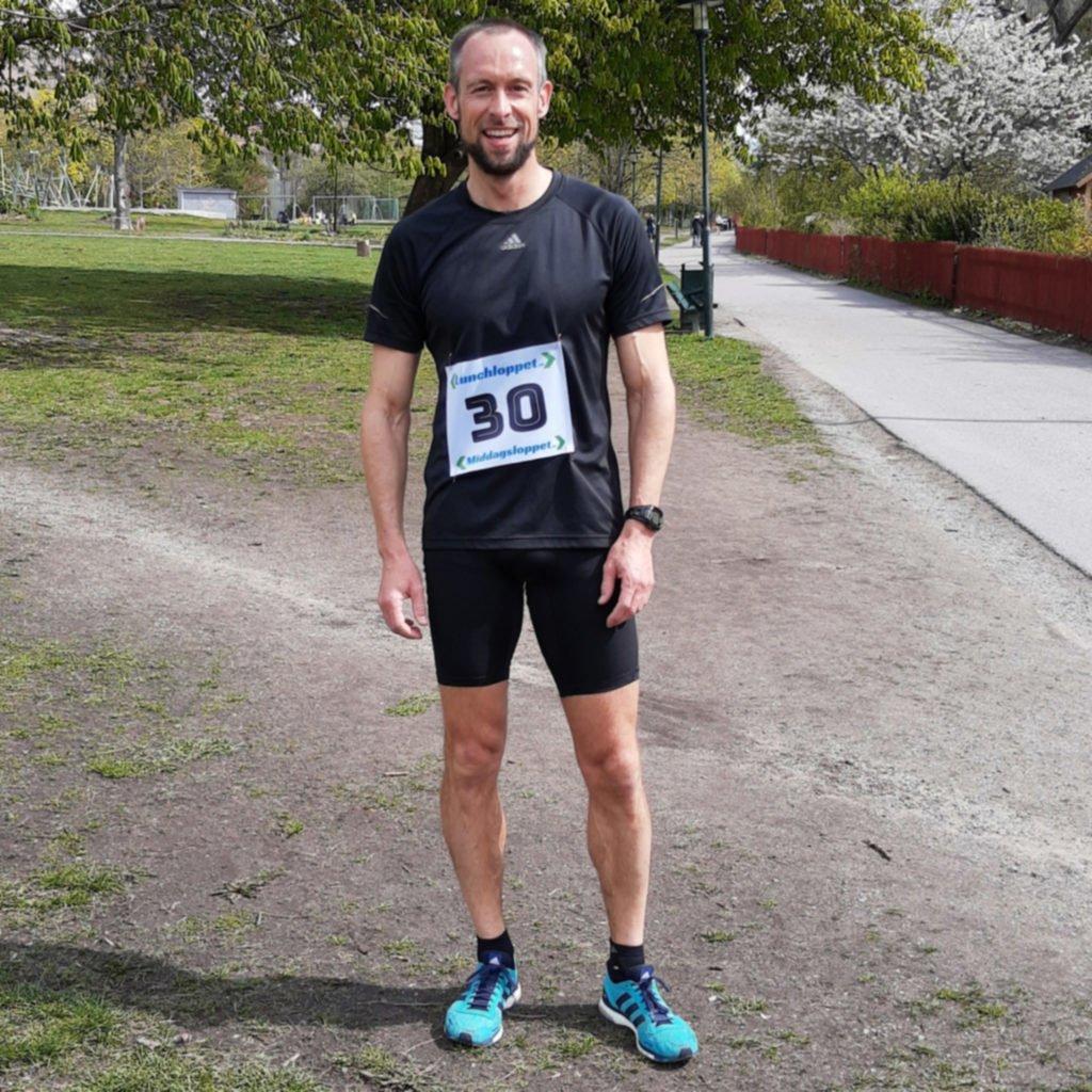 Banrekord Lunchloppet Djurgården